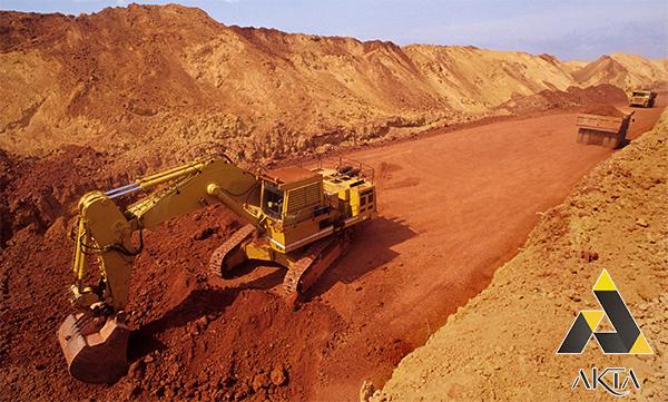 استخراج بوکسیت از سنگ معدن